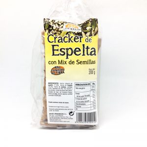 Cracker de espelta con semillas mix 200gr Eco Salim