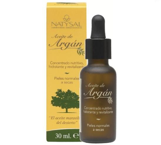 Aceite De Argan 15ml-30ml Natysal