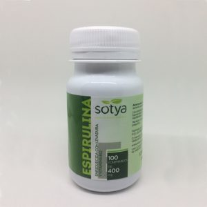 Espirulina con levadura y B12 Sotya