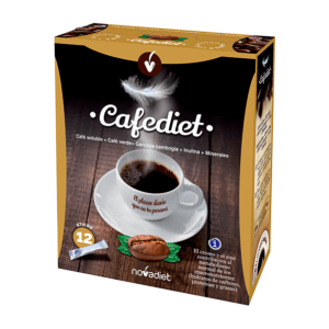 Cafe soluble Cafediet 12sticks Novadiet
