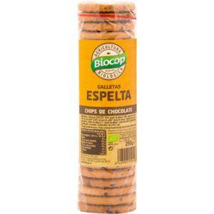 Galletas espelta chips chocolate Biocop