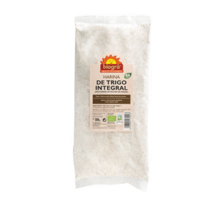 Harina de trigo integral 1kg Biogra