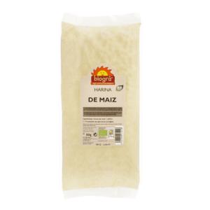 Harina de maiz BIO 500gr Biogra