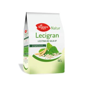 Lecitina de soja granulada 500gr El Granero