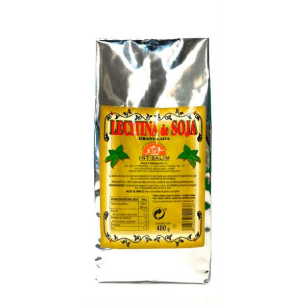 Lecitina de soja granulada 400gr Int Salim