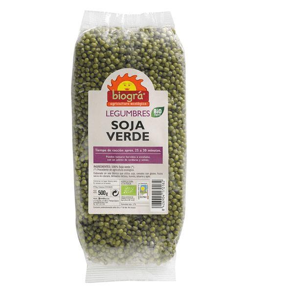 Soja verde 500gr Biogra
