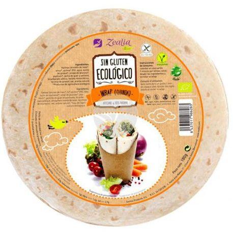Wrap Quinoa Sin Gluten Bio 120Gr Zealia